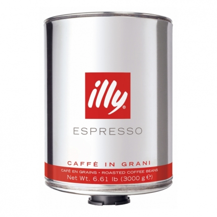 3kg illy beans FOR CATERING CUSTOMERS