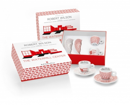 Watermill Center 2 x Espresso Cup Gift Set